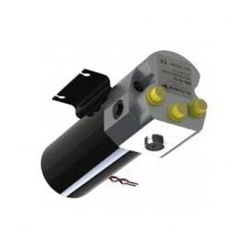Doppio effetto pompa idraulica 12v Dump Trailer 10 Quart metallo Serbatoio